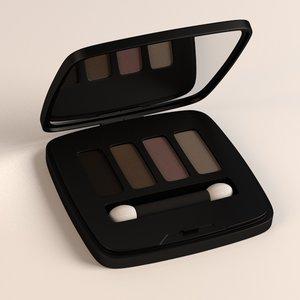 3d eye shadows model