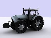 3d max tractor