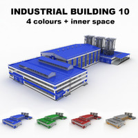 Large industrial building 10