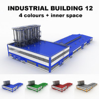Large industrial building 12