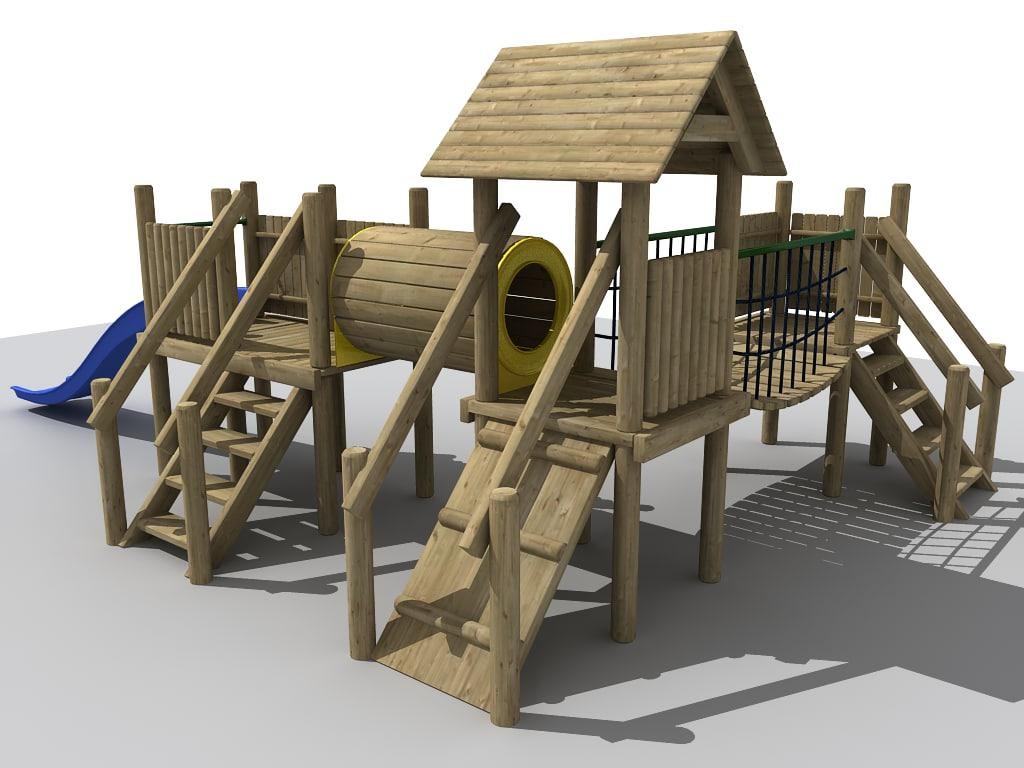 maya adventure playground play