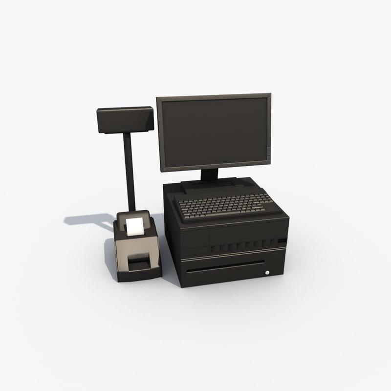 cinema4d cash register