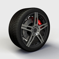 Wheel Quantum TEK rim and tire