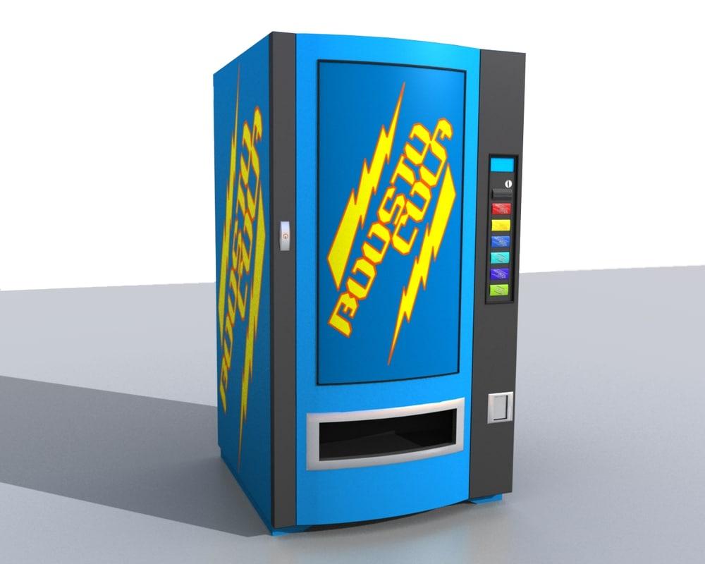 vending machine obj