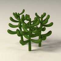 suculent 3d model