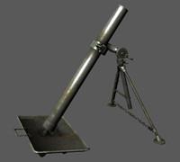 3d mortar model