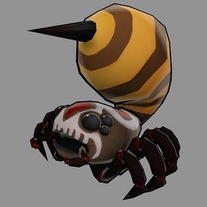 3d games spider creature