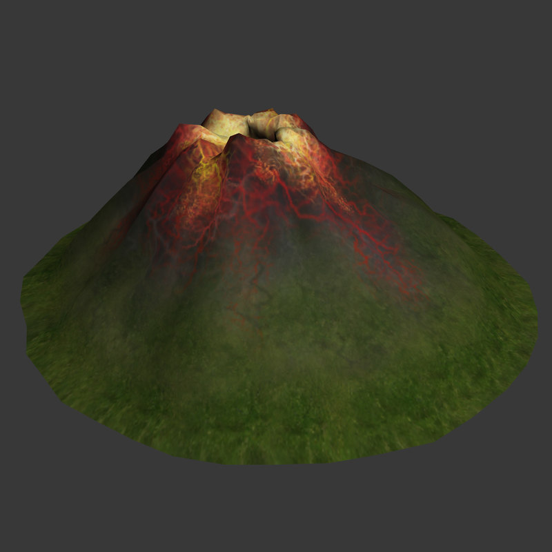 Volcano diagram 3d model volcano fire ccuart Image collections
