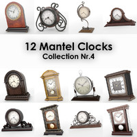 12 Mantel Clocks Nr4