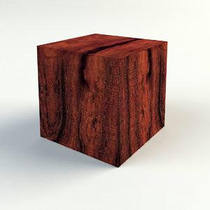 3d blocco cube model