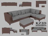 ID008 Classic Sofa