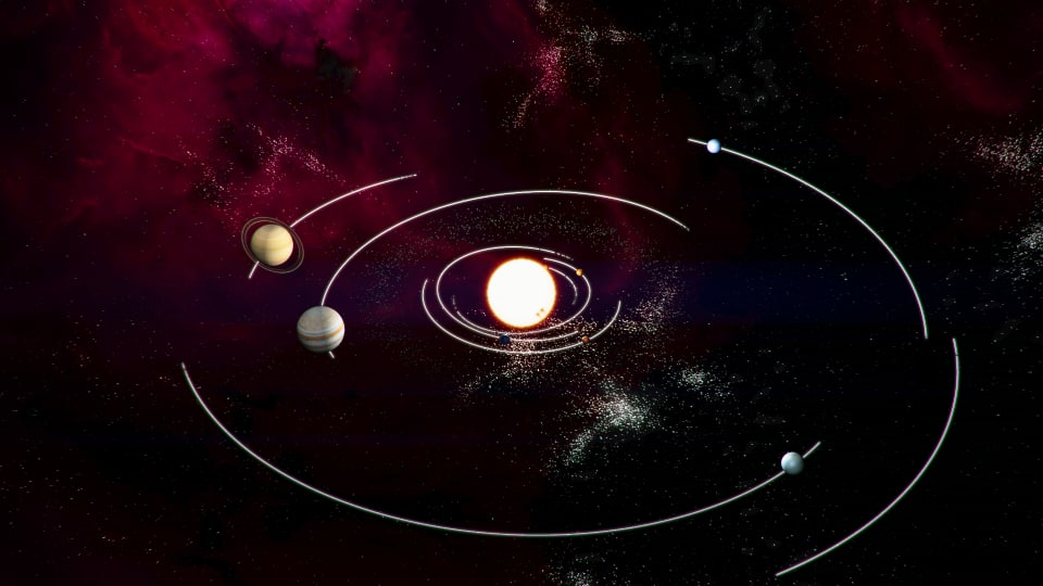 3d model planetary animation earth