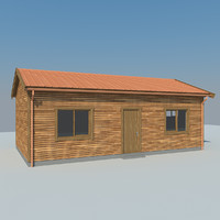 Wooden House MH 004