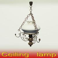 Classic ceiling lamp