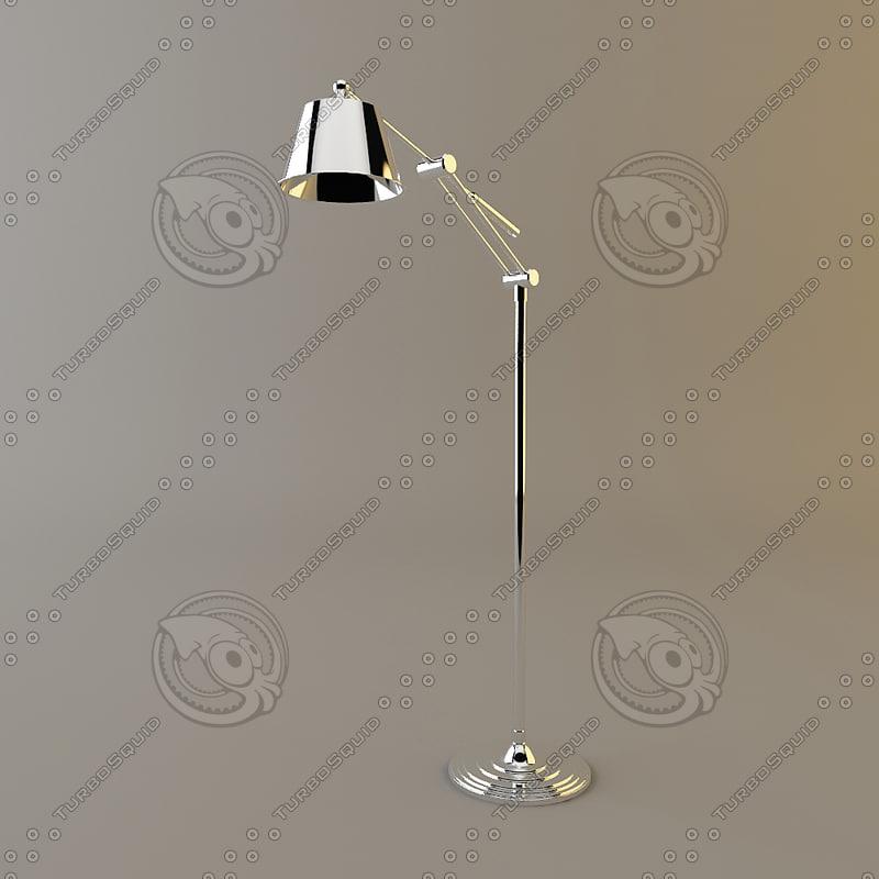 3ds max cantori elena lamp