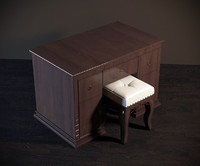 3d dressing table model