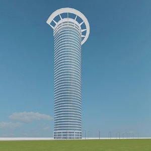 new skyscraper 19 3d max