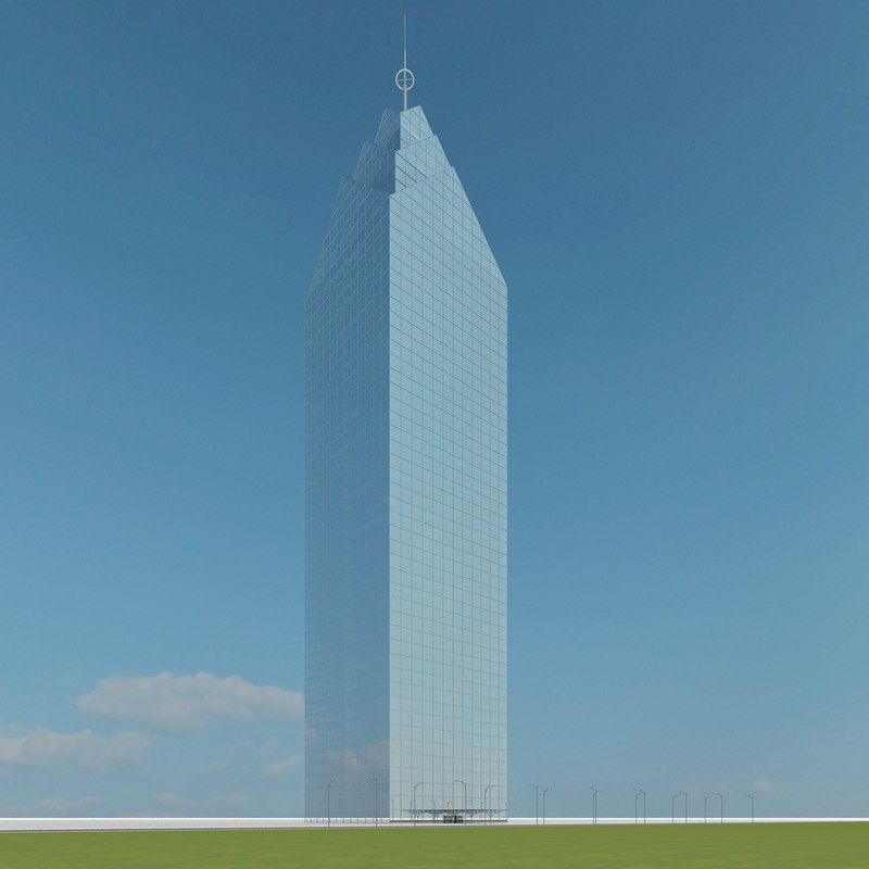 new skyscraper 27 3d model