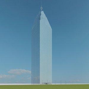 new skyscraper 27 3d model