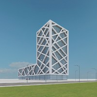 3d new skyscraper 12 model