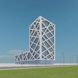 3d new skyscraper 12 model