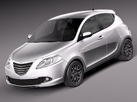 3d chrysler ypsilon 2012
