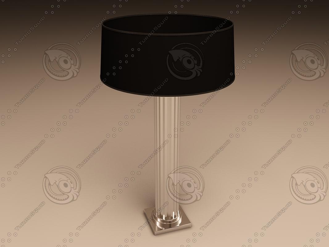 eichholtz lamp manhattan 3ds