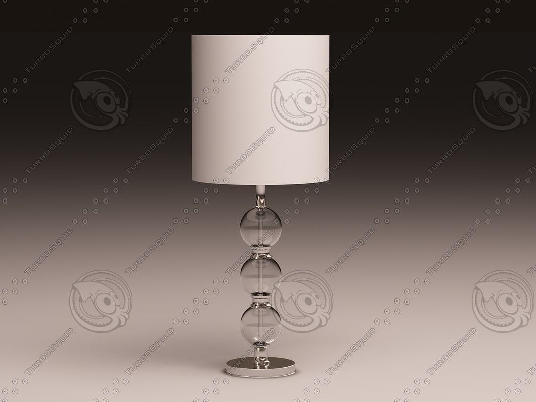 3dsmax eichholtz lamp royal sheffield