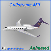 Gulfstream G450 Private livery 3