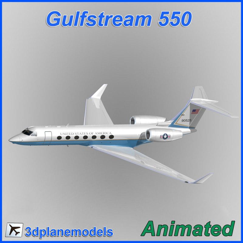 3d model gulfstream g550