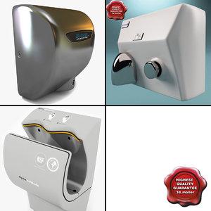 3d hand dryers