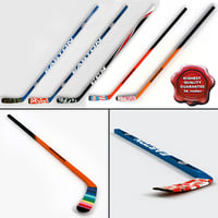 3d max hockey sticks