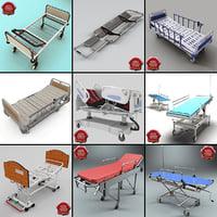 3d hospital beds v4