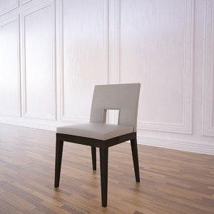 velin chair 3d model