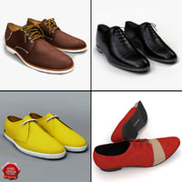 3d men shoes v6