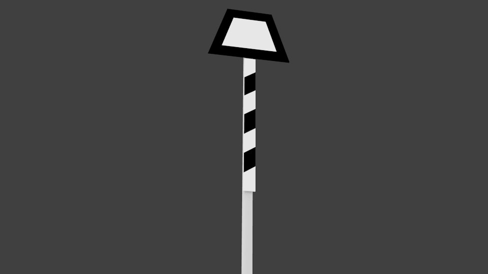 german signal ne 1 3d model