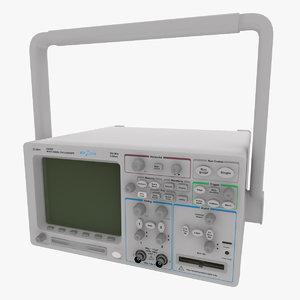 oscilloscope agilent technologies 54620 3d max
