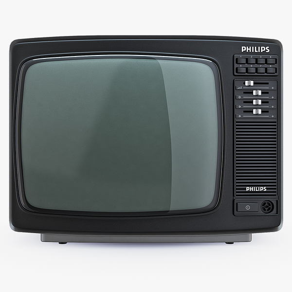 philips 14c825 retro color 3d c4d