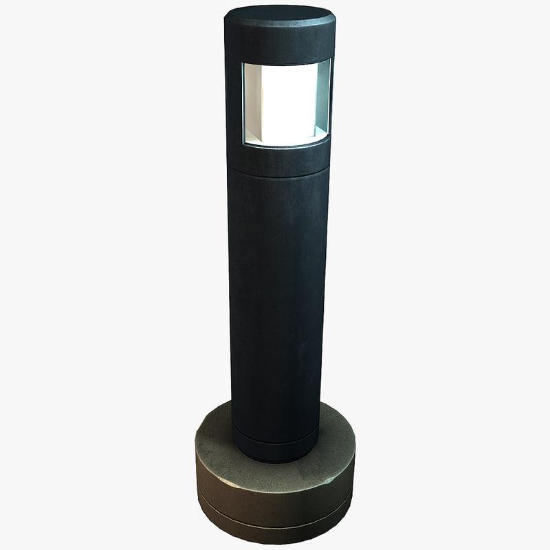 street lamp lights 3d model