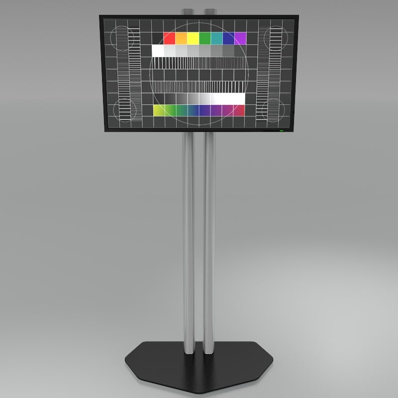 3d model audipack stand
