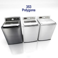 3d model of washing machines