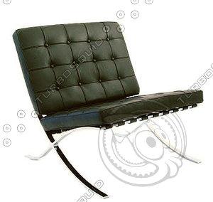free max mode barcelona chair