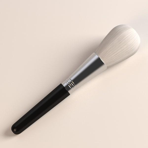 3ds max cosmetics brush