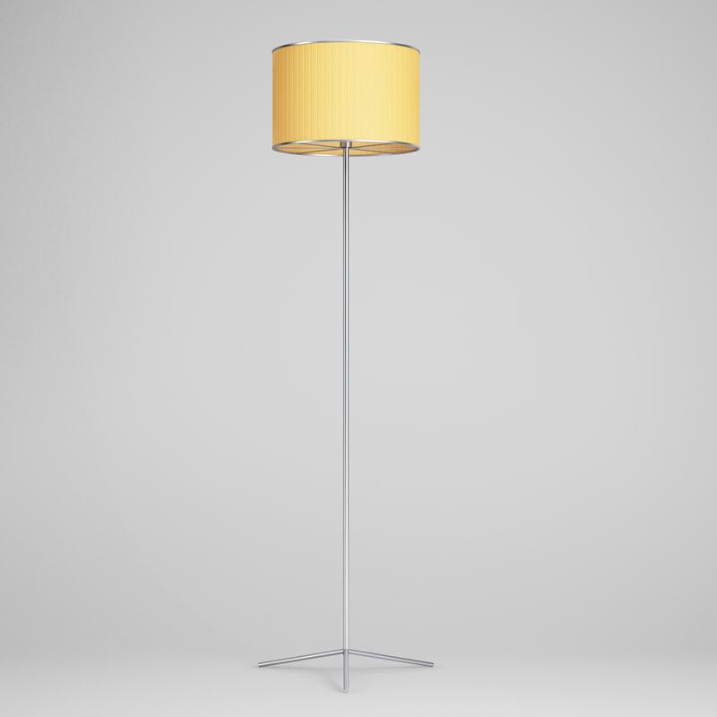 floor lamp 45 3d model