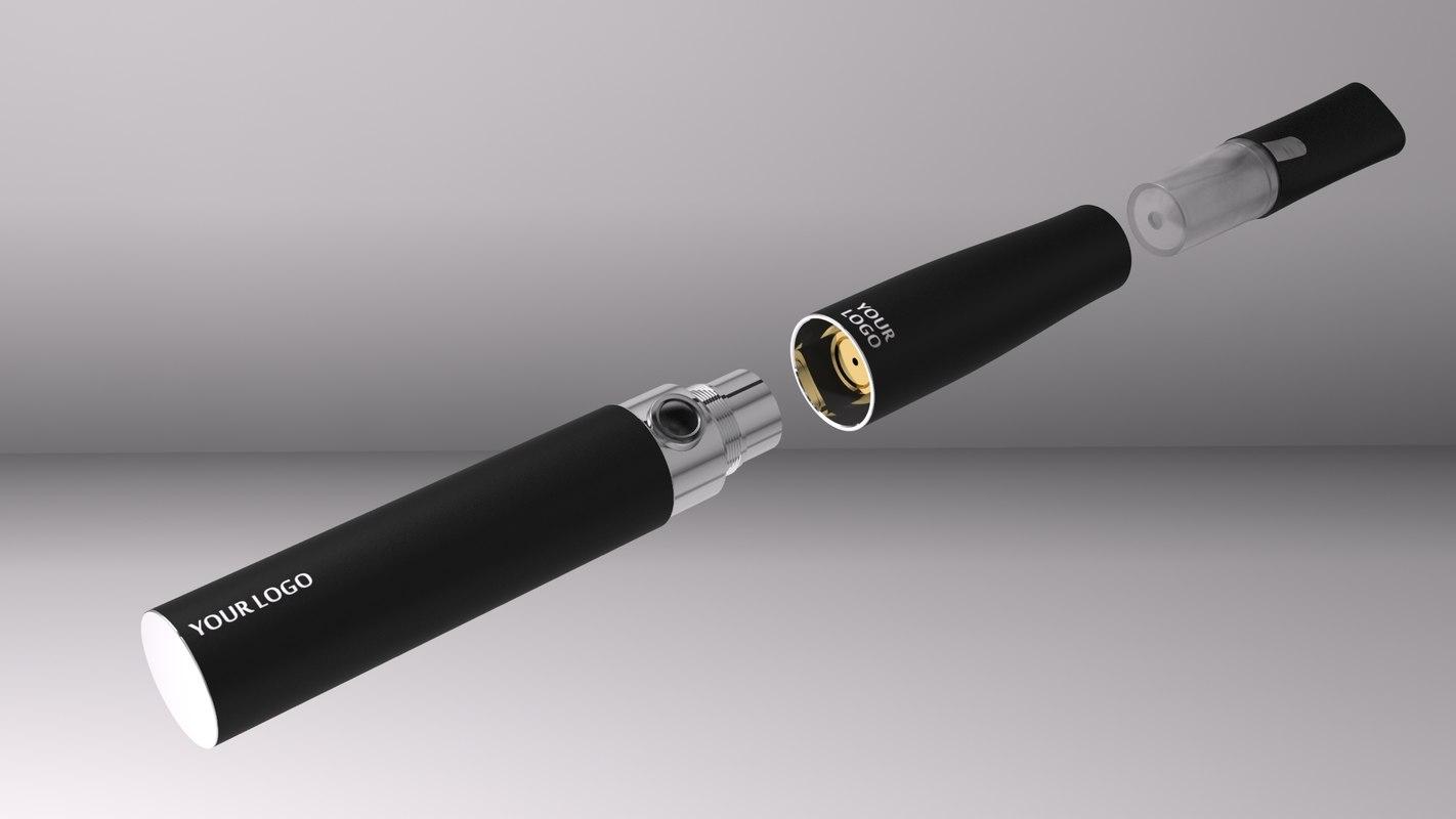 3d electronic cigarette model