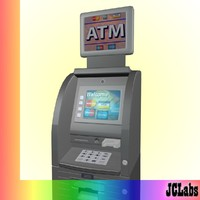3d cash machine
