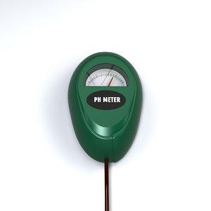 3d ph meter
