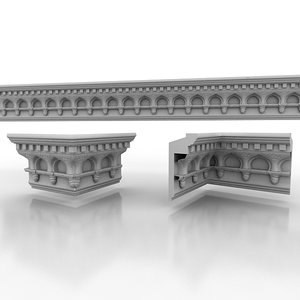 decorate classical 3d model