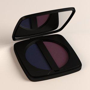 eye shadows 3d model
