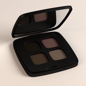 3d model eye shadows